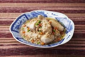 海老芋のそぼろ煮