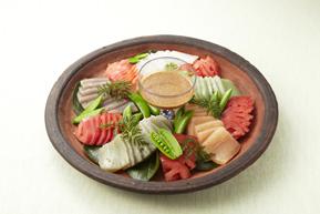 生コンニャクの中華風サラダ