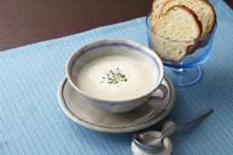 ユリ根のクリームスープ