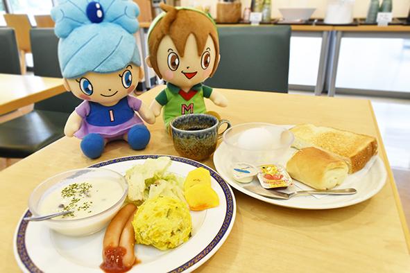 愛彩ランドでおいしい朝食をどうぞ!