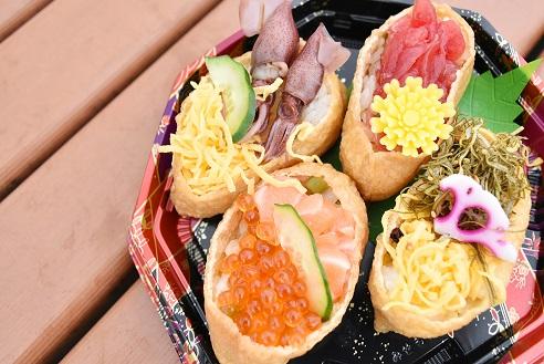 愛彩ランド鮮魚売り場特製「新鮮彩り寿司」を販売!