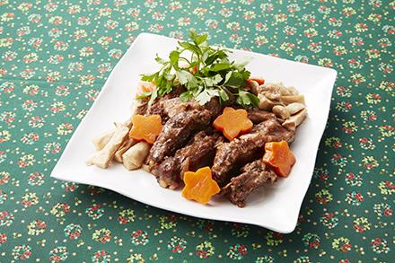スペアリブのバルサミコ酢煮