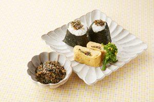 写真: ご飯のお供にエコ料理