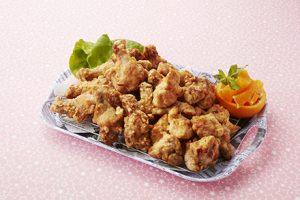 写真: 鶏の唐揚げ2種