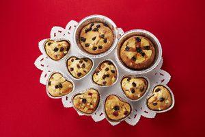 写真: さつま芋ケーキ